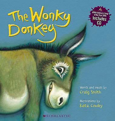 The Wonky Donkey (With CD) by Craig Smith Paperback Book