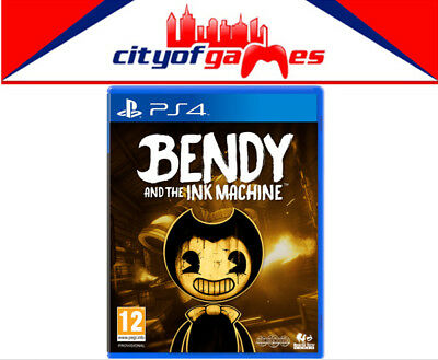 Bendy and the Ink Machine PS4 Game Brand New & Sealed