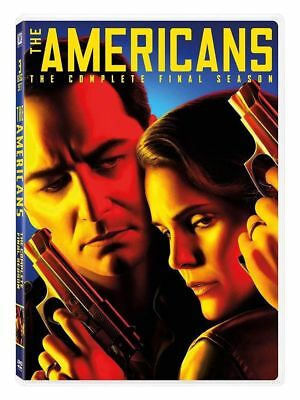 Brand New  The Americans Season 6 Sixth (DVD, 2018 3 Disc Set) Free Shipping