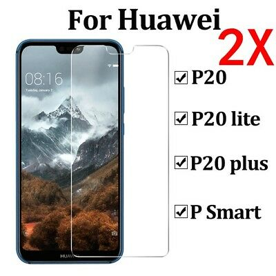 For Huawei P20 Pro Lite P10 Tempered Glass Screen Protector Premium Protection