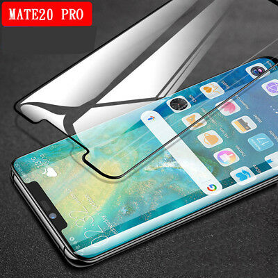 Full Curved Tempered Glass Screen Protector Edge Cover For HUAWEI Mate20Pro P20