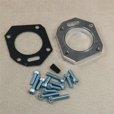 62//70mm, Both Size K20 K24 Intake Manifold RBC RRC Dual Throttle Body Adapter