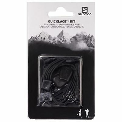 Salomon Quicklace Kit - Spare / Replacement Laces - Black,Red,Yellow,White,Green