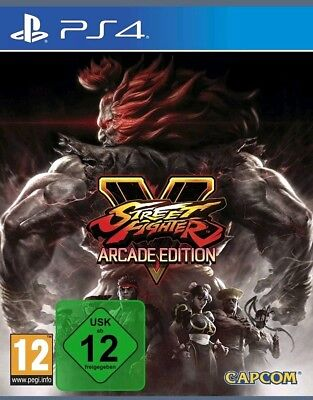 Street Fighter V - Arcade Edition PS4 (Sony PlayStation 4, 2018) neuware
