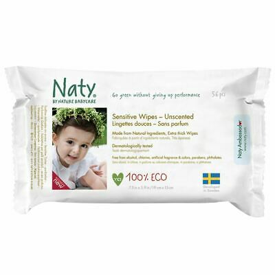 Nature Baby Sensitive Wipes Unscented 390g