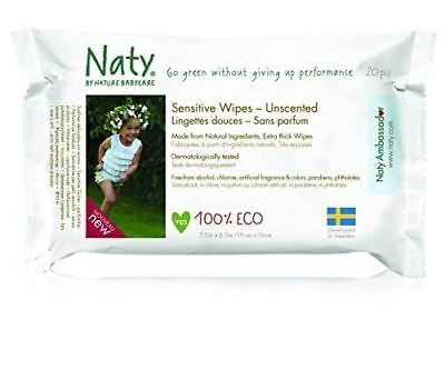 Nature Baby Sensitive Travel Wipes 170g