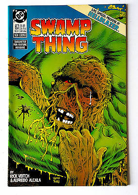 Swamp Thing #67 (1987 DC) VF Hellblazer Preview