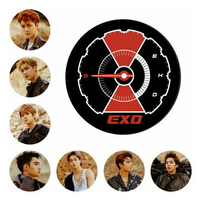 """KPOP EXO 5th Album DON'T MESS UP MY TEMPO Brooch Button Badge 2.28"""""""