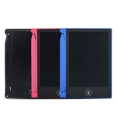 4 Inch Large LCD e-Writer Tablet Writing Drawing Memo Boogie Board PDQ