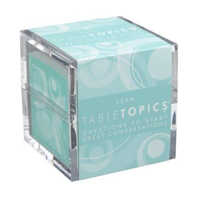 ❤ Tabletopics Teen Questions To Start Great Conversations Beautiful ❤ New
