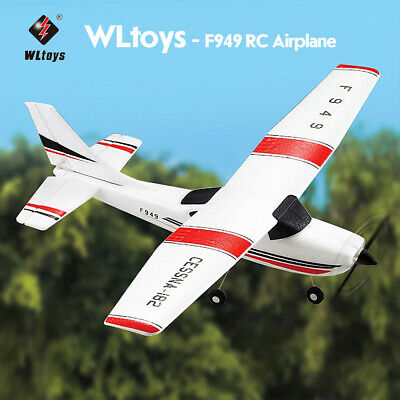 WLtoys F949 2.4G 3Ch RC Airplane Fixed Wing Plane Outdoor toys Drone Aircraft US