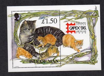 Isle Of Man Mnh 1996 Ms712 Capex 96 Int Stamp Exhb