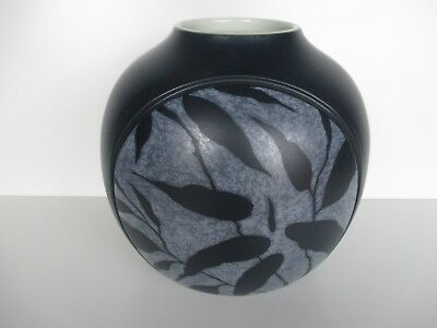 Denby Spirit Blue Limited Edition Vase New 1st Quality Excellent Condition