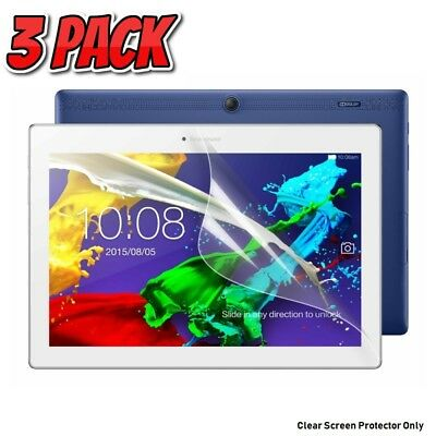 3 x Clear Screen Protectors for Lenovo TAB E10 10 inch 16GB Tablet only [3-Pack]