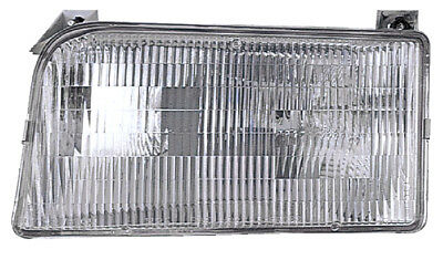 1992-1996 Ford Bronco/F150/F250 Pickup Driver Left Headlight Lamp Assembly