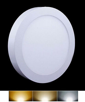Downlight Panel LED Superficie Redondo Circular 12W 3000K 4000K 6000K Envio 48h