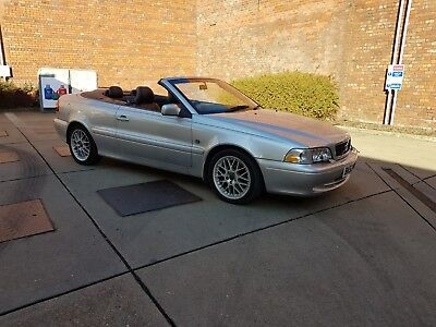 Volvo C70 2.0 Turbo Automatic Convertible 2003/53 Short Test Spares Or Repairs