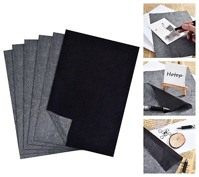 """Carbon Transfer Paper 100-Sheets Black Tracing Paper 9"""" x 13"""""""