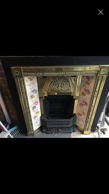 Victorian Fireplace And Tile Surround