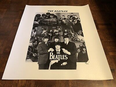 The Beatles Limited Edition Canvas 27/100