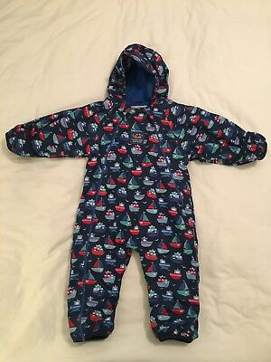 97b1b8df6 ⭐ JOJO MAMAN BEBE Waterproof Fleece Lined All In One SNOWSUIT 0 ...