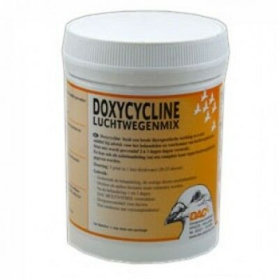 Pigeon Product - Bronchial Doxycycline Mix 200gr (respiratory infections) by DAC