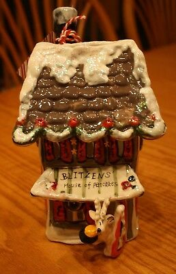 Blue Sky Clayworks Reindeer Christmas Blitzens House Of Pancakes Hotel T Light