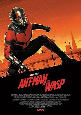 Ant Man and the Wasp Odeon A4 poster - Marvel (2018) - Ant Man