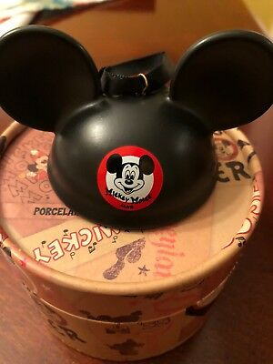 Disney World Mickey Mouse Club Ear Hat Ornament 2018 Brand New In Souvenir Box