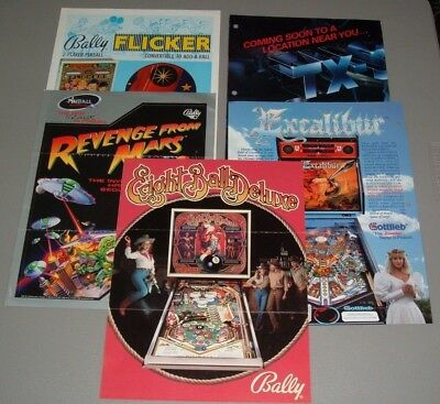 Pinball Flyers - Not seen all the time
