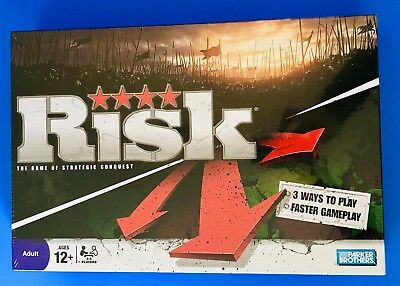 Risk The Game of Strategic Conquest by Hasbro New Sealed
