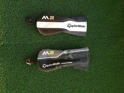 Original TaylorMade Golf M2 Driver Fairway Hybrid/Rescue Headcovers Covers.