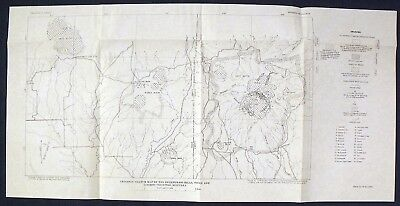 USGS FLUORITE PROSPECTS & MINES in MONTANA Vintage 1950 FOUR MAPS - SCARCE!