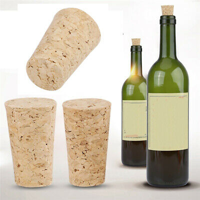 10pcs New Tools Red Wine Plug Bar Sealing Cup Straight Bottle Stopper Wood Cork