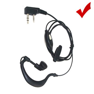 K-Type 2P 2-PIN Earpiece Ear-piece for Kenwood TK-3173 TK-3200 TK-3200