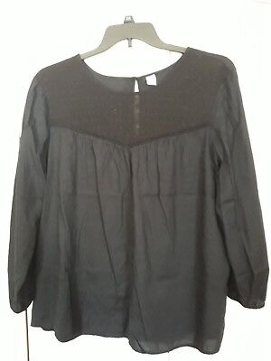 Old navy - womens black XL top blouse - new with tags