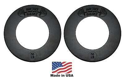 Micro Gainz 2.0 Pair of .50LB of Olympic Fractional Weight Plates
