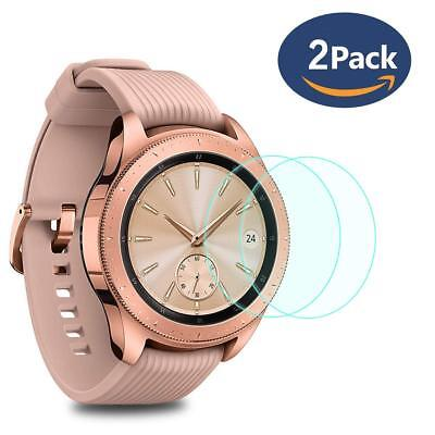 Compatible with Samsung Galaxy Watch 42 MM Screen Protector 2 Pack Crystal Clear