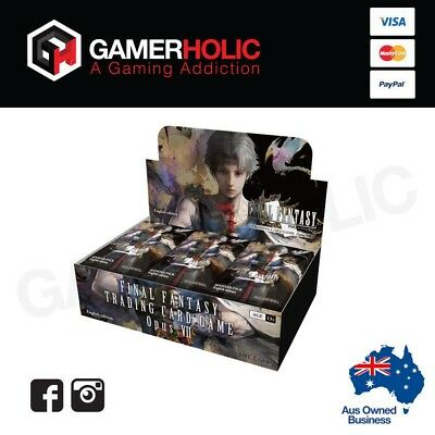 Final Fantasy Trading Card Game Opus VII Booster Box Brand New
