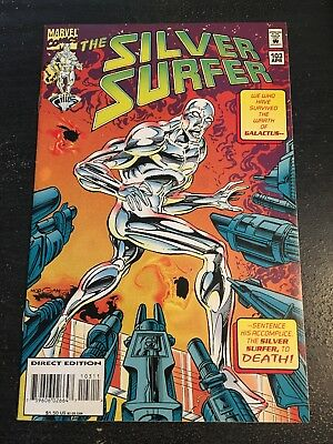 Silver Surfer#103 Incredible Condition 9.0(1995) Galactus,Morgan Art!!