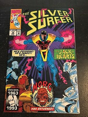 Silver Surfer#78 Incredible Condition 9.4(1993)Jack Of Hearts,Nebula,Morg,Lim!