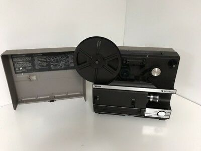 Bell & Howell 1620 Dual 8MM Super 8 Standard 8 Film Movie Projector collector