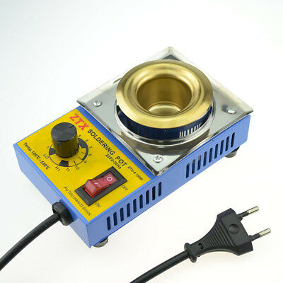 150W Temperature Controlled Soldering Pot Melting Tin Pot Tin Cans With EU Plug
