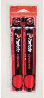 Paslode Fuel Cells Cordless Framing Red Easy to Load for (IMCT) Nailer (2-Pack)