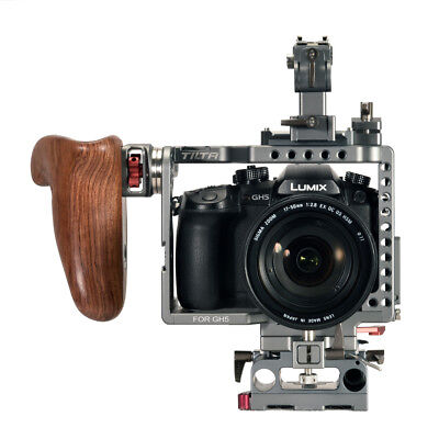 TILTA ES-T37-A Panasonic GH4 GH5 Camera rig Cage supports release baseplate