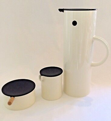 Stelton Coffee Set, Original Danish Design, Erik Magnussen 1970s