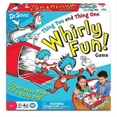 ❤ Wonder Forge Dr Seuss Thing Two One Whirly Fun Game ❤ New