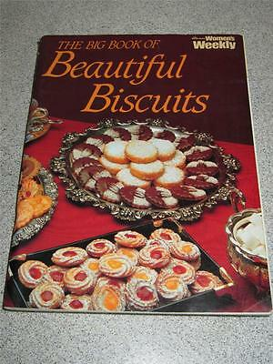 Aust Womens' Weekly Cookbook Cooking Recipes The Big Book Of Beautiful Biscuits