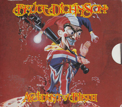 "BRUCE DICKINSON ""Accident Of Birth"" CD-Album"