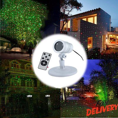 Christmas Laser Fairy Light Projection Waterproof Outdoor Star Light Decor Gift